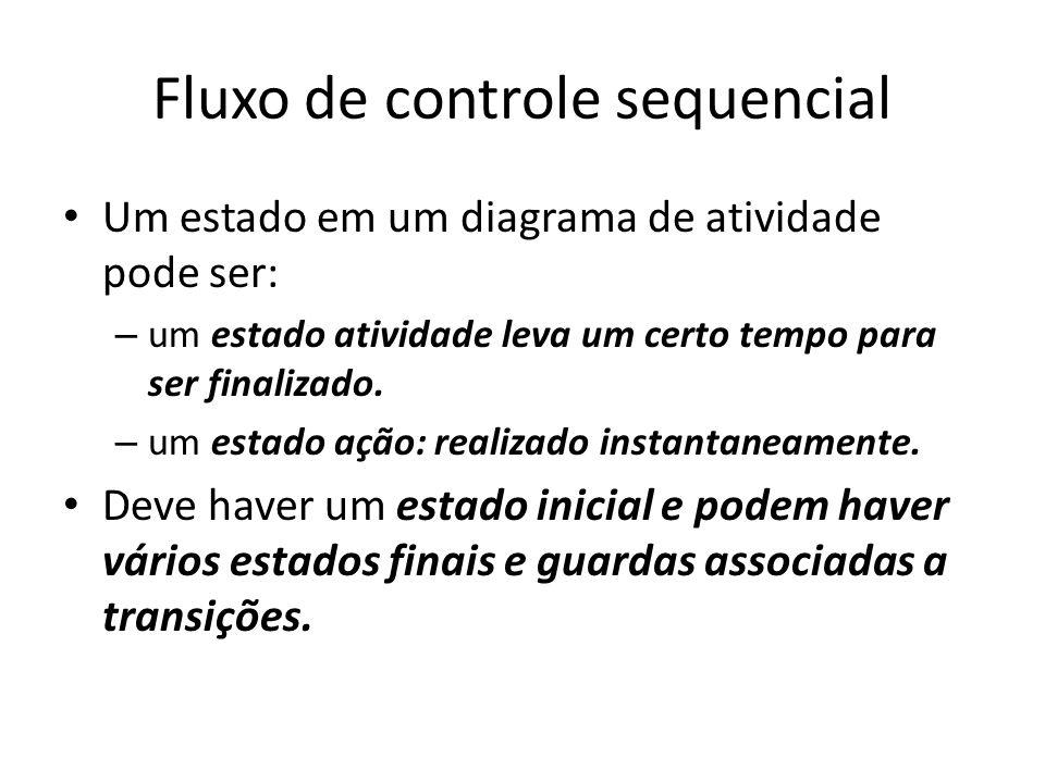 Fluxo de controle sequencial