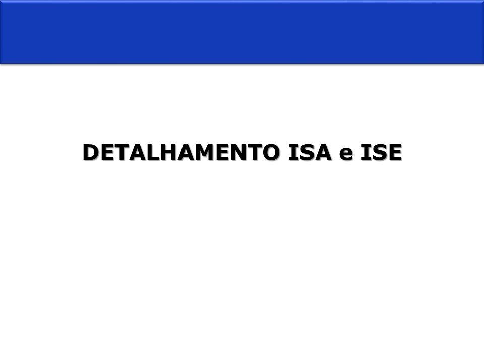DETALHAMENTO ISA e ISE