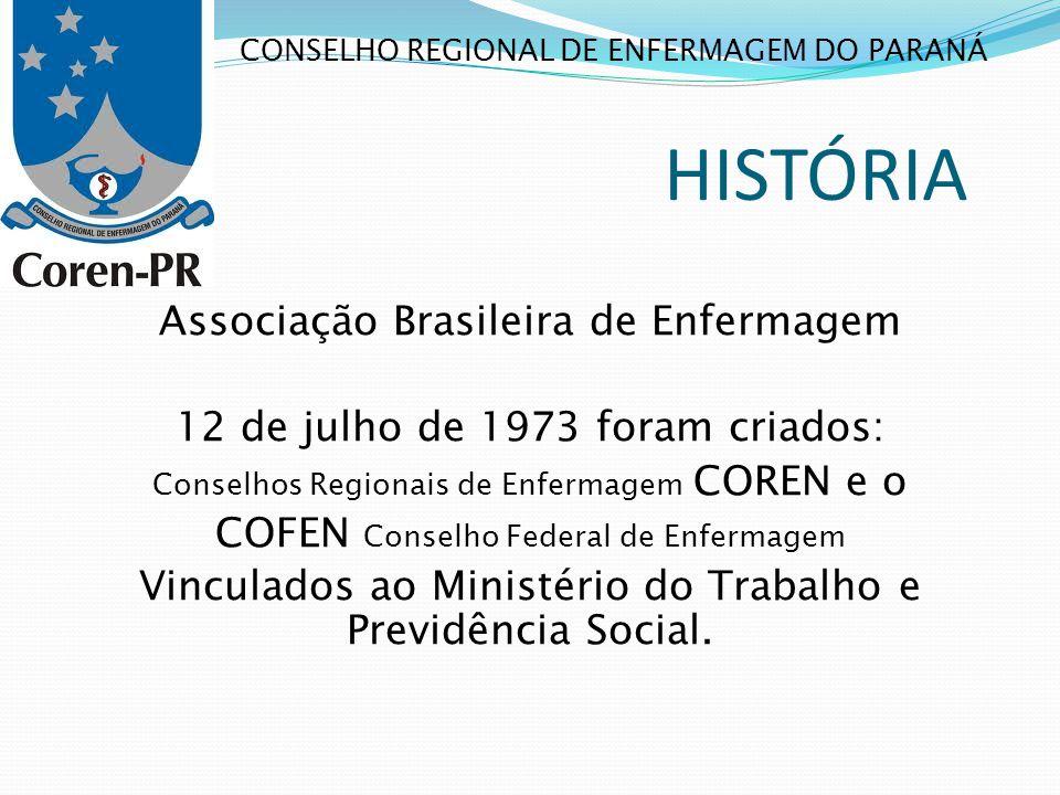 HISTÓRIA Associação Brasileira de Enfermagem
