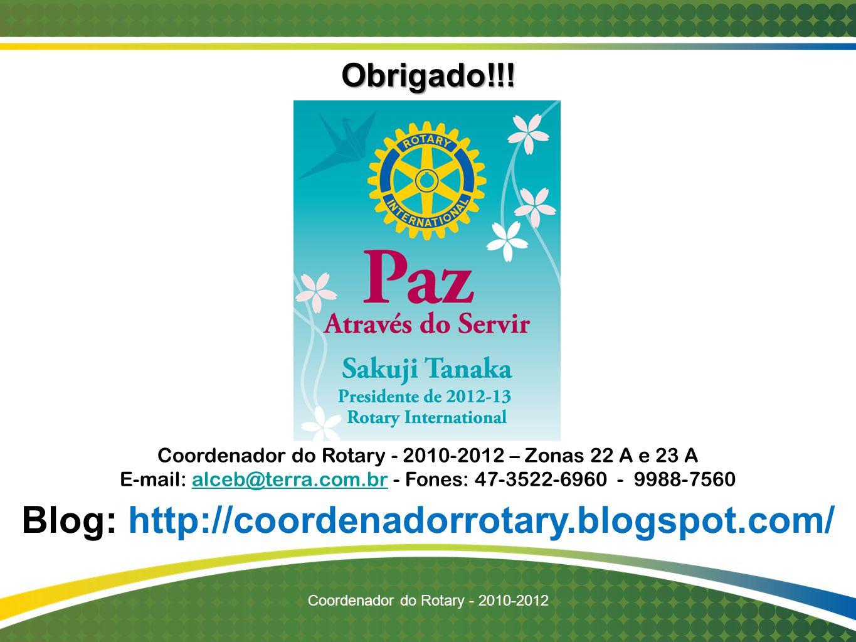 Blog: http://coordenadorrotary.blogspot.com/