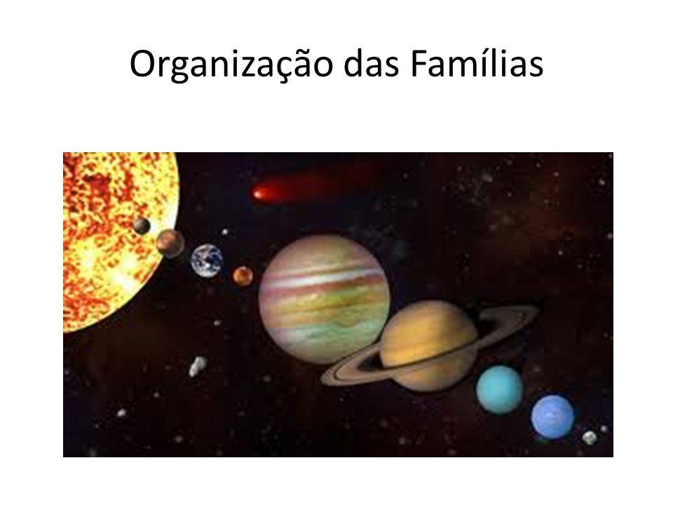 Organização das Famílias
