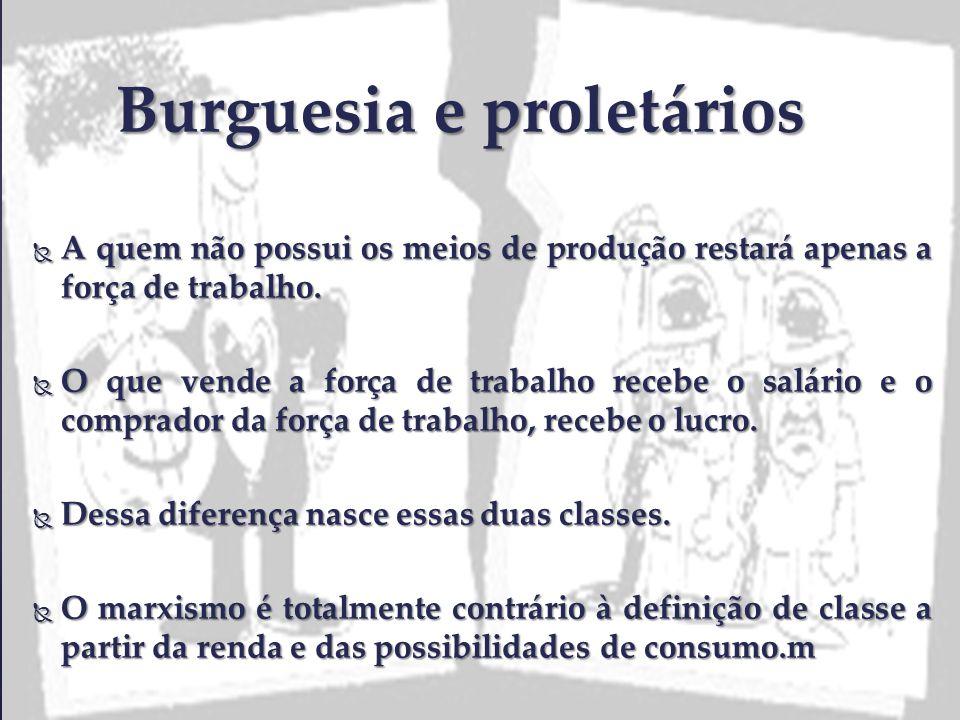 Burguesia e proletários