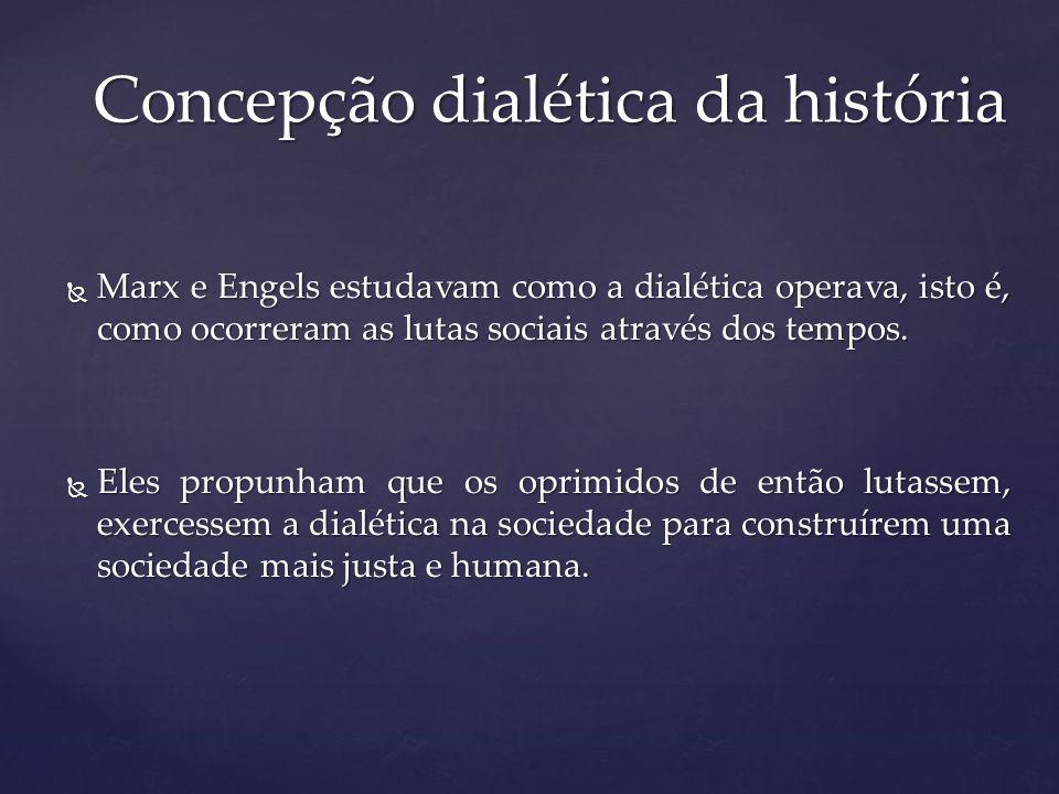 Concepção dialética da história