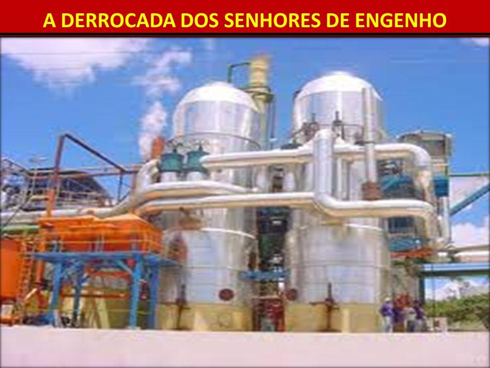 A DERROCADA DOS SENHORES DE ENGENHO