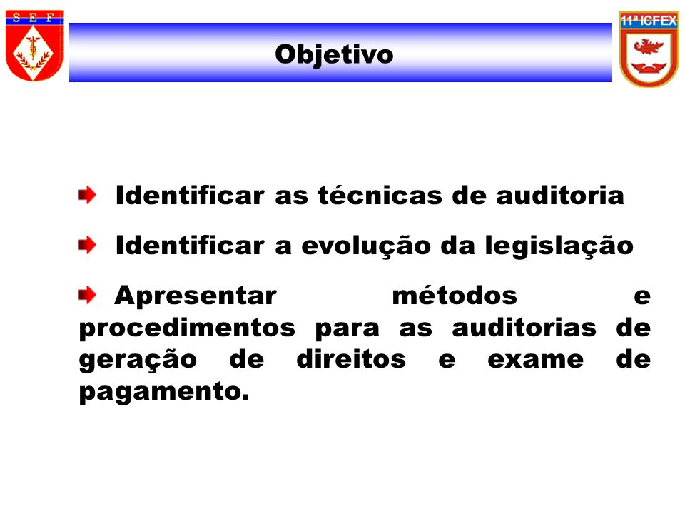 Identificar as técnicas de auditoria