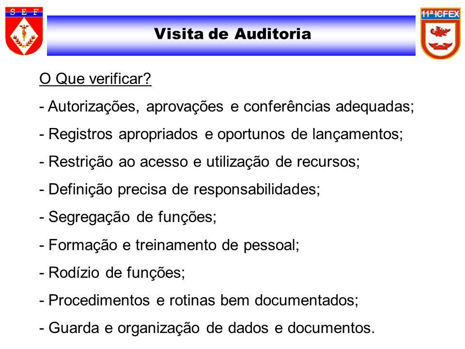 Visita de Auditoria
