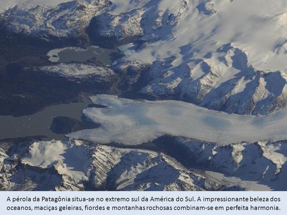A pérola da Patagônia situa-se no extremo sul da América do Sul