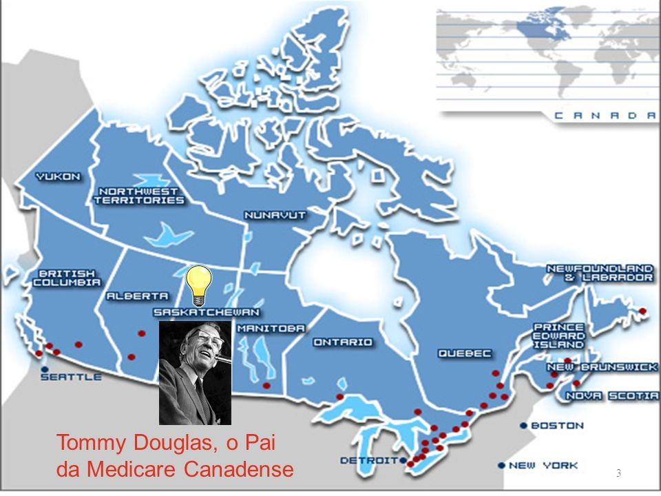 Tommy Douglas, o Pai da Medicare Canadense