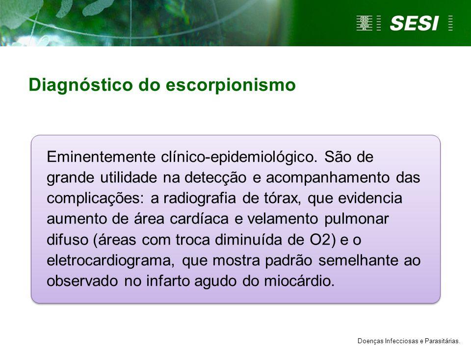 Diagnóstico do escorpionismo