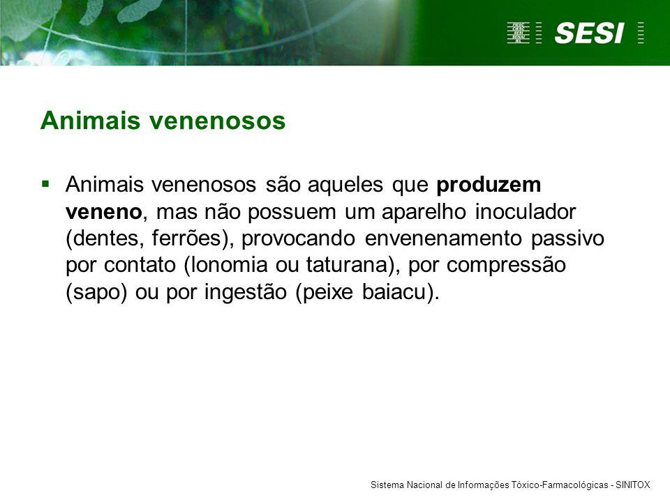 Animais venenosos