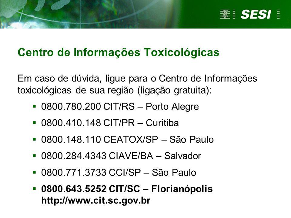 Centro de Informações Toxicológicas