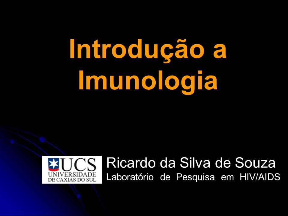 Introdução a Imunologia