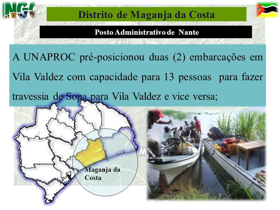 Distrito de Maganja da Costa Posto Administrativo de Nante