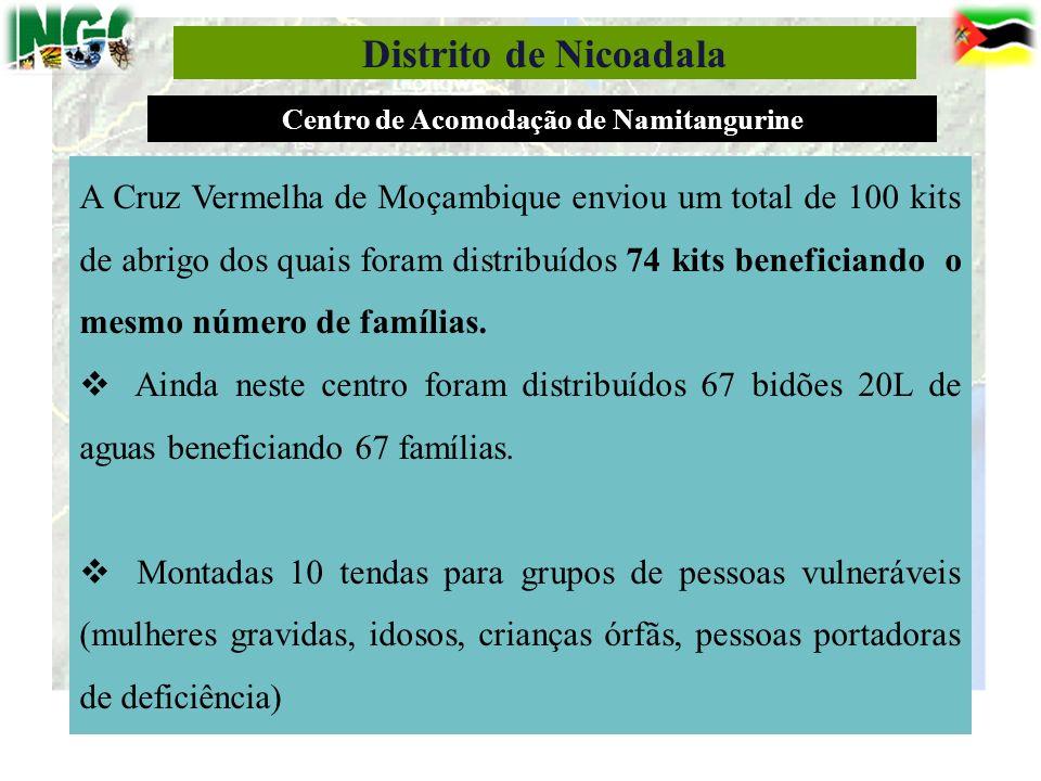 Centro de Acomodação de Namitangurine