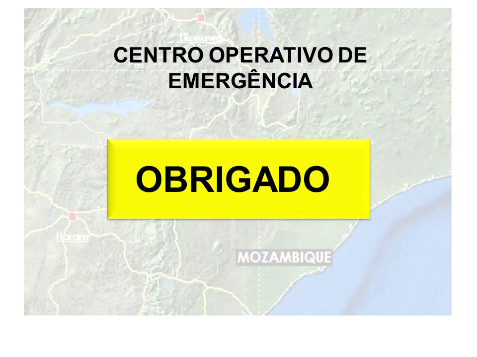 CENTRO OPERATIVO DE EMERGÊNCIA