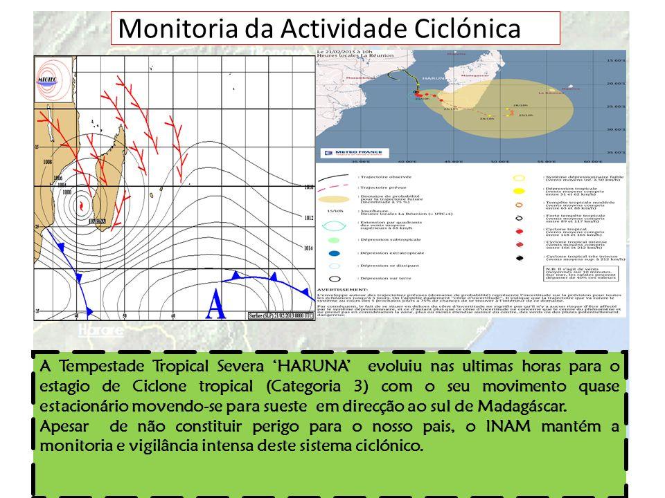 Monitoria da Actividade Ciclónica