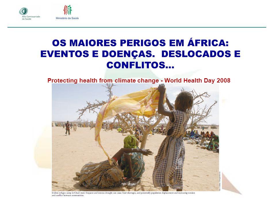 OS MAIORES PERIGOS EM ÁFRICA: EVENTOS E DOENÇAS