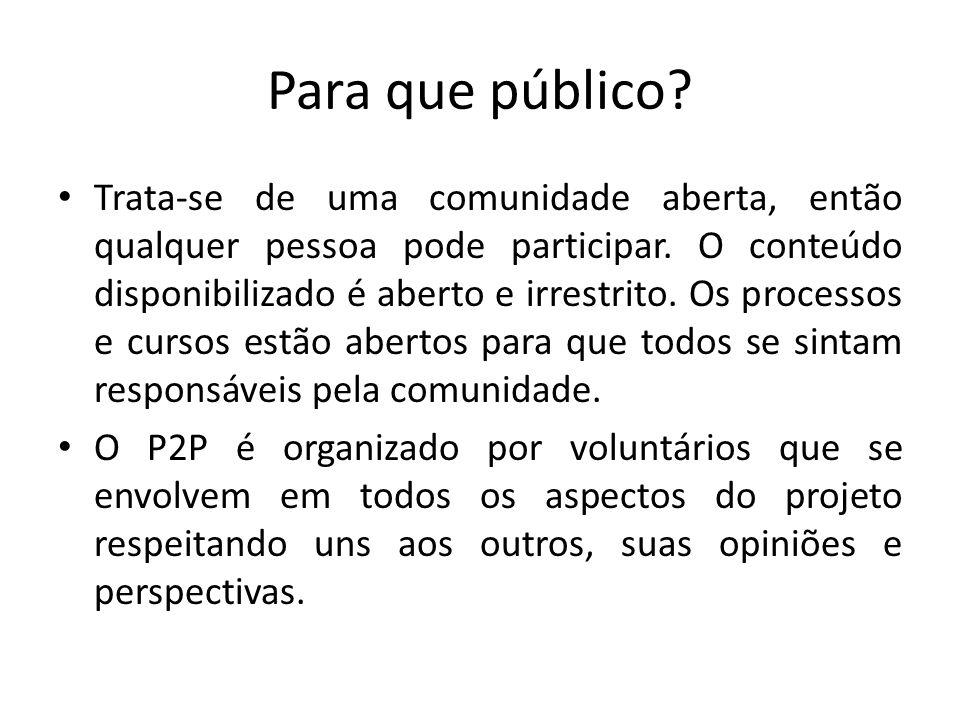Para que público