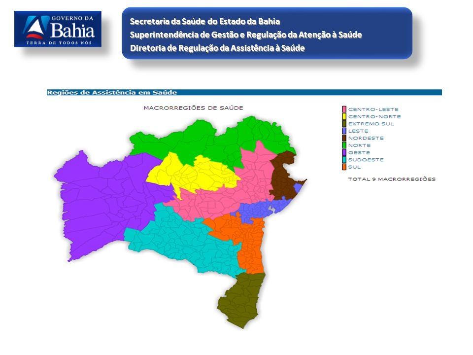 Secretaria da Saúde do Estado da Bahia
