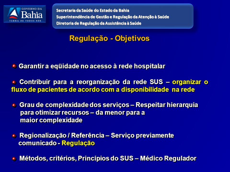 Garantir a eqüidade no acesso à rede hospitalar