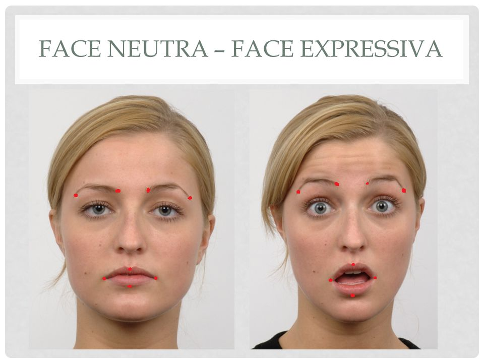 Face neutra – face expressiva