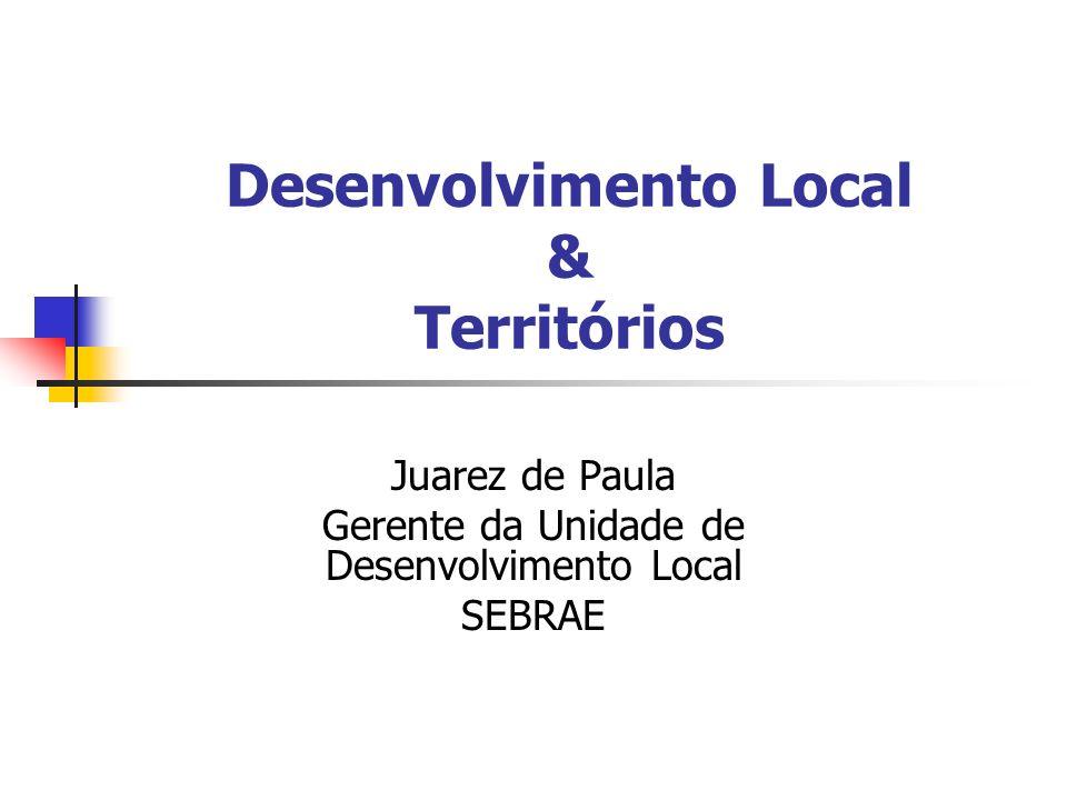 Desenvolvimento Local & Territórios