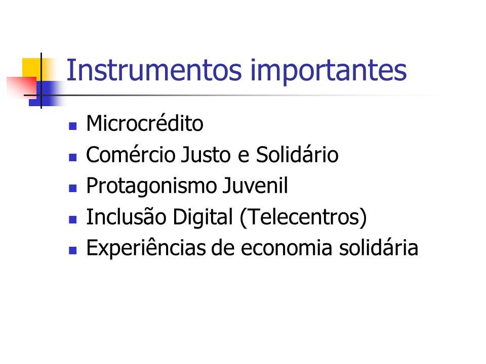 Instrumentos importantes