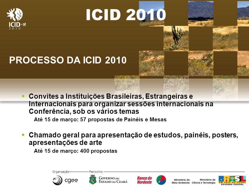 ICID 2010 PROCESSO DA ICID 2010.
