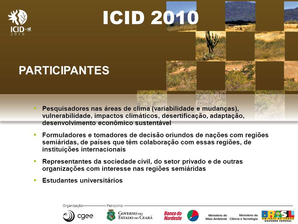 ICID 2010 PARTICIPANTES.