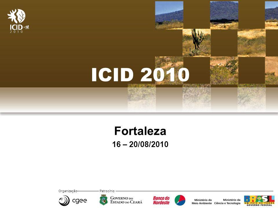 ICID 2010 Fortaleza 16 – 20/08/2010