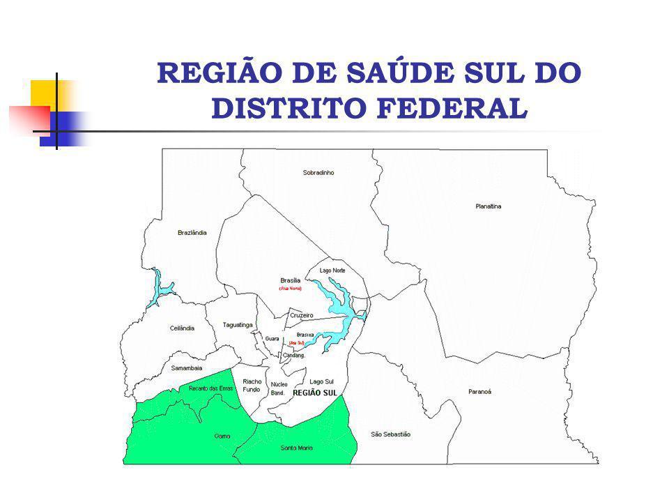 REGIÃO DE SAÚDE SUL DO DISTRITO FEDERAL