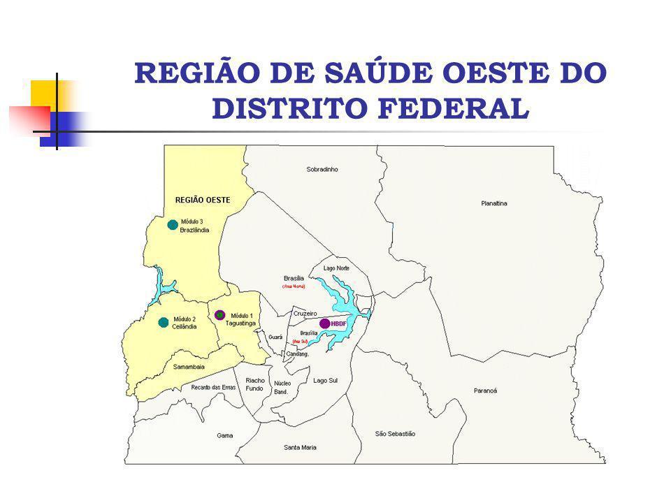 REGIÃO DE SAÚDE OESTE DO DISTRITO FEDERAL