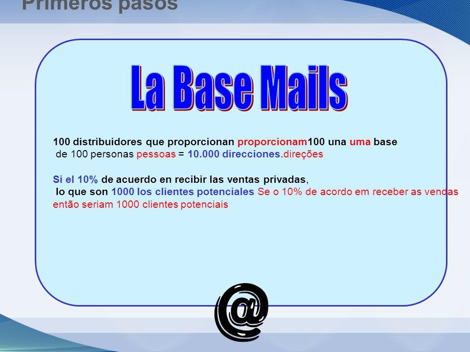La Base Mails Primeros pasos
