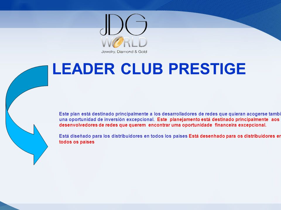 Statut LEADER CLUB PRESTIGE Statut