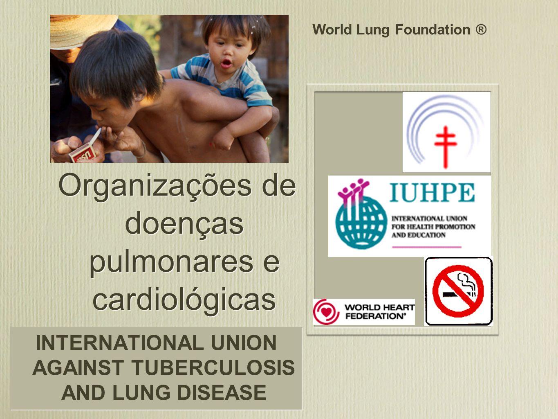 Organizações de doenças pulmonares e cardiológicas