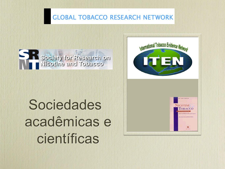 Sociedades acadêmicas e científicas