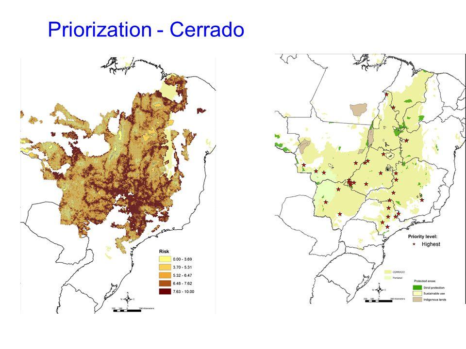 Priorization - Cerrado