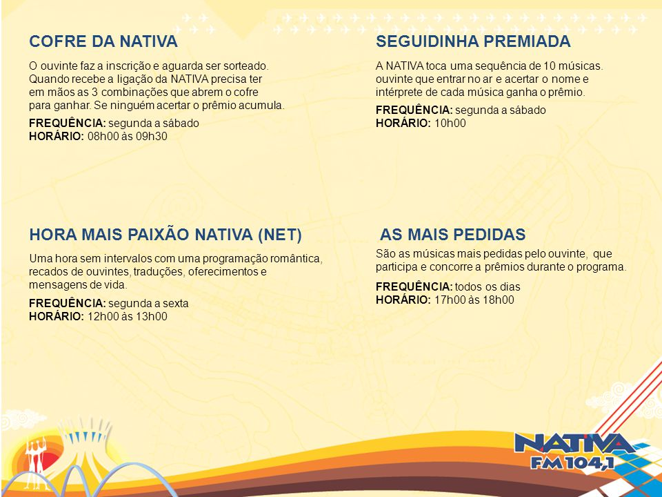 HORA MAIS PAIXÃO NATIVA (NET) AS MAIS PEDIDAS