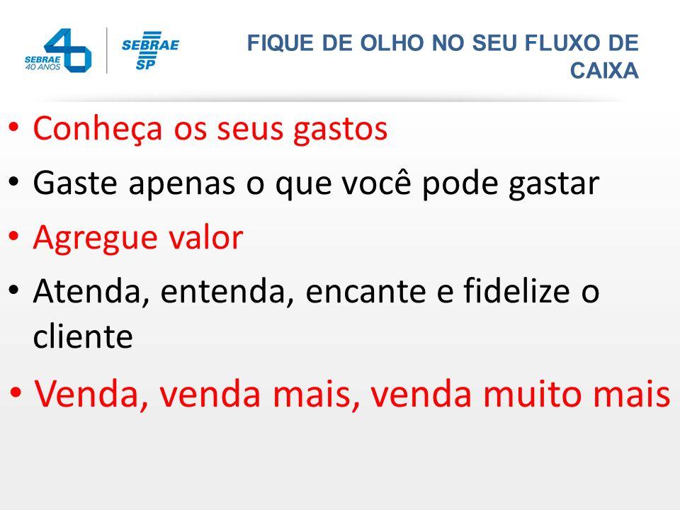FIQUE DE OLHO NO SEU FLUXO DE CAIXA