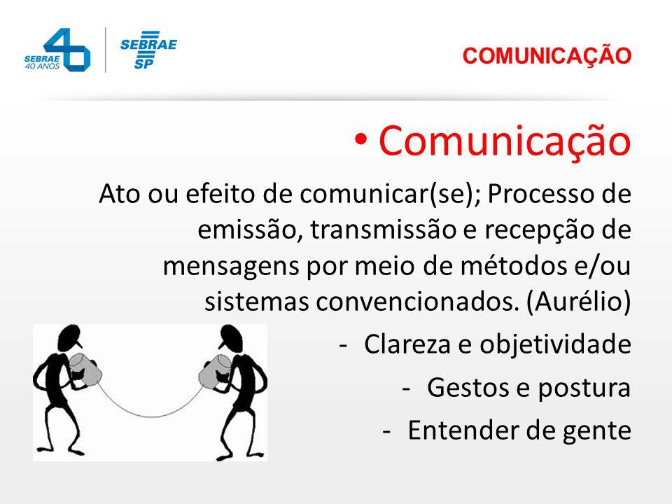 COMUNICAÇÃO Comunicação.