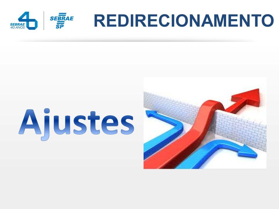 REDIRECIONAMENTO Ajustes