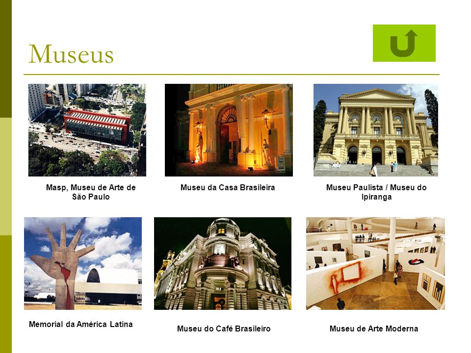 Museus Masp, Museu de Arte de São Paulo Museu da Casa Brasileira