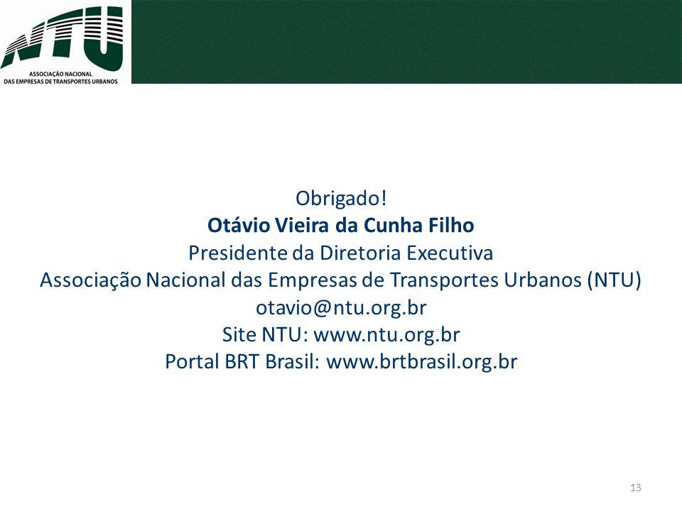 Obrigado! Otávio Vieira da Cunha Filho
