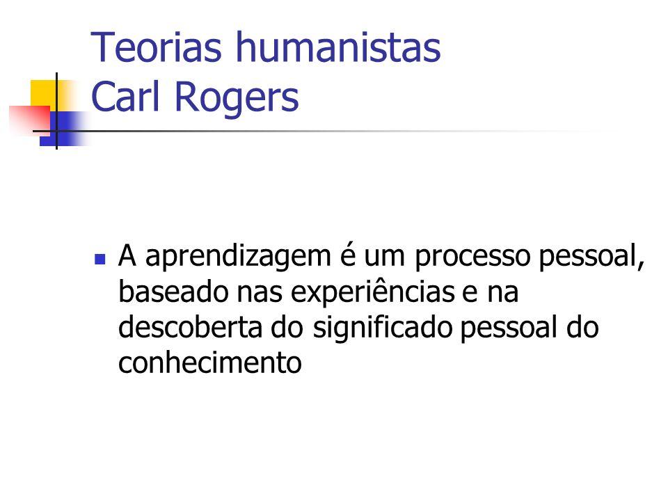 Teorias humanistas Carl Rogers