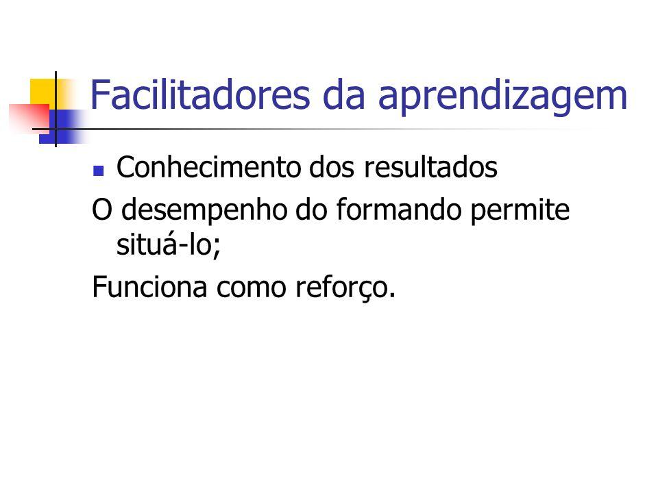 Facilitadores da aprendizagem