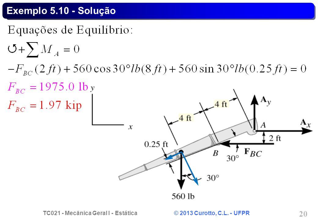 Exemplo 5.10 - Solução