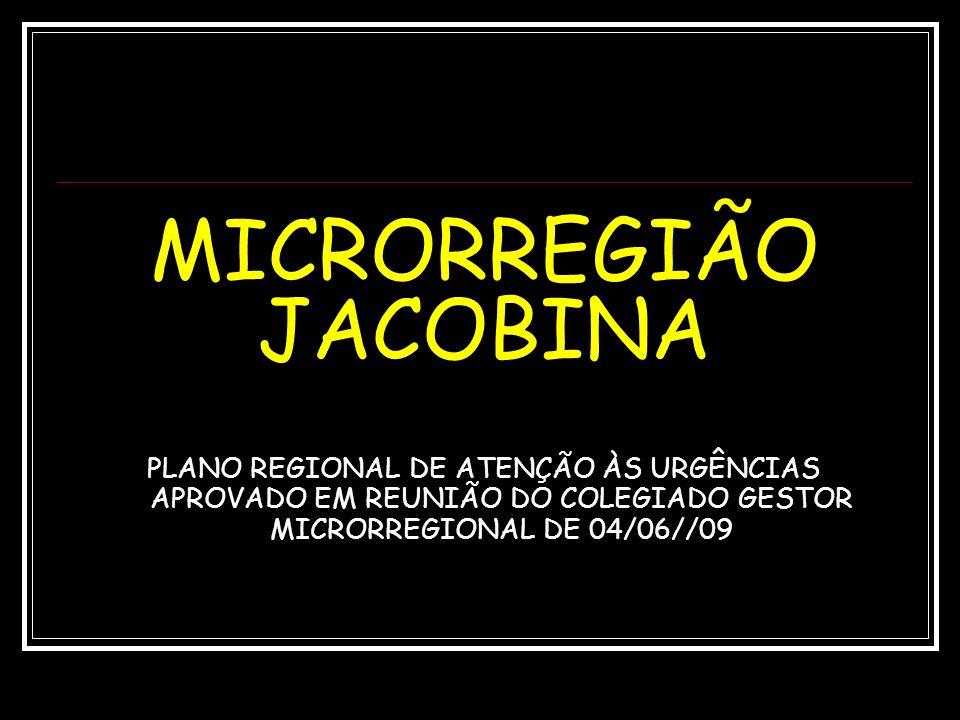 MICRORREGIÃO JACOBINA