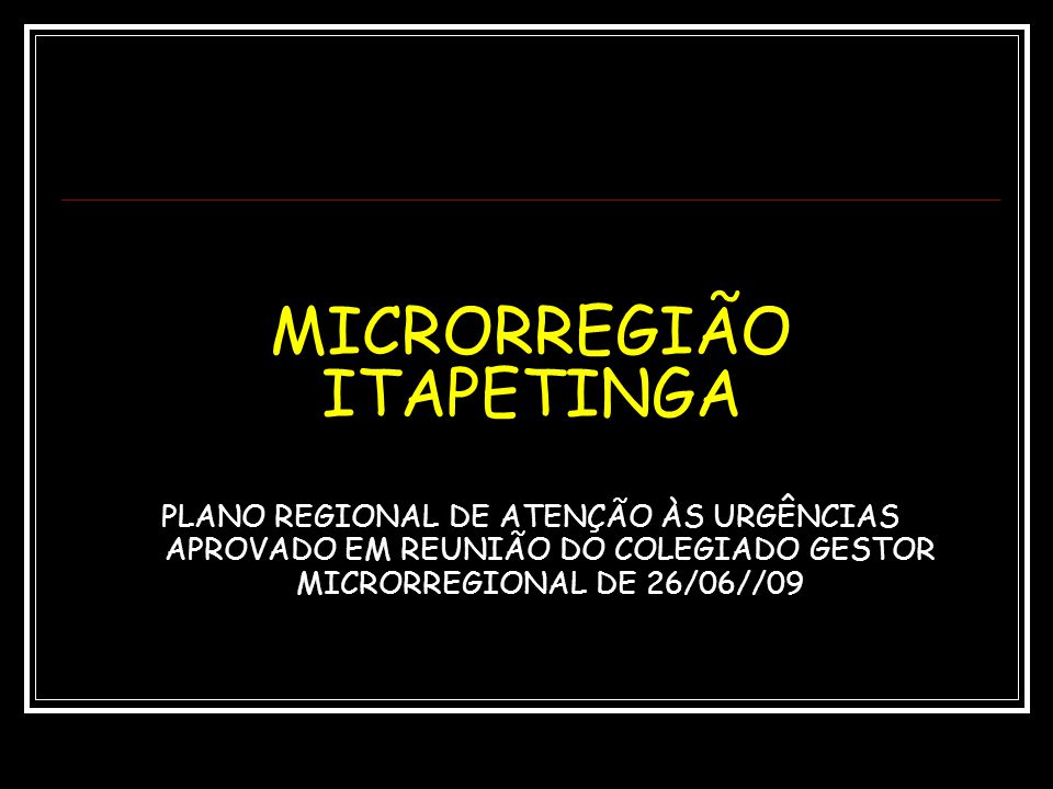 MICRORREGIÃO ITAPETINGA