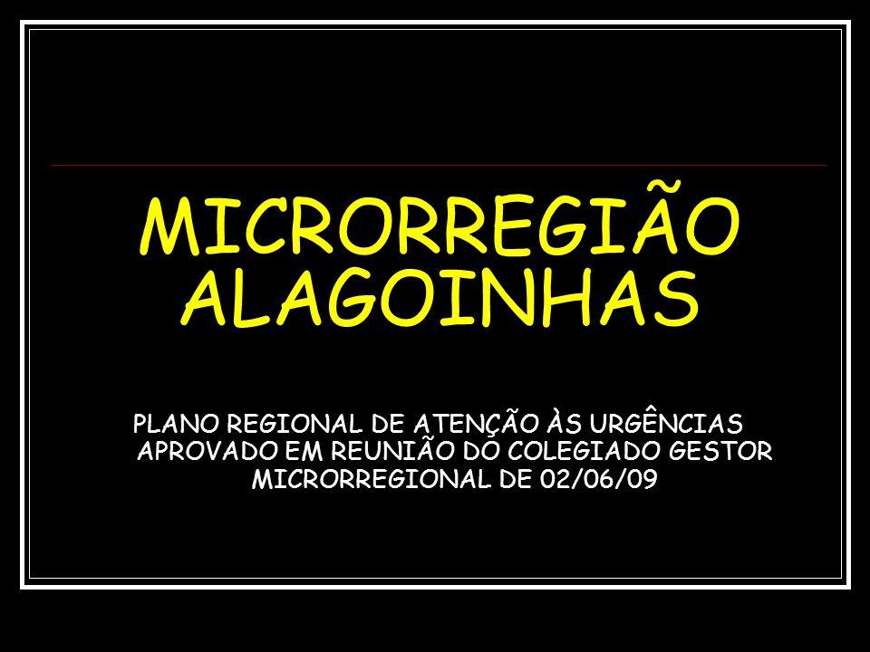 MICRORREGIÃO ALAGOINHAS