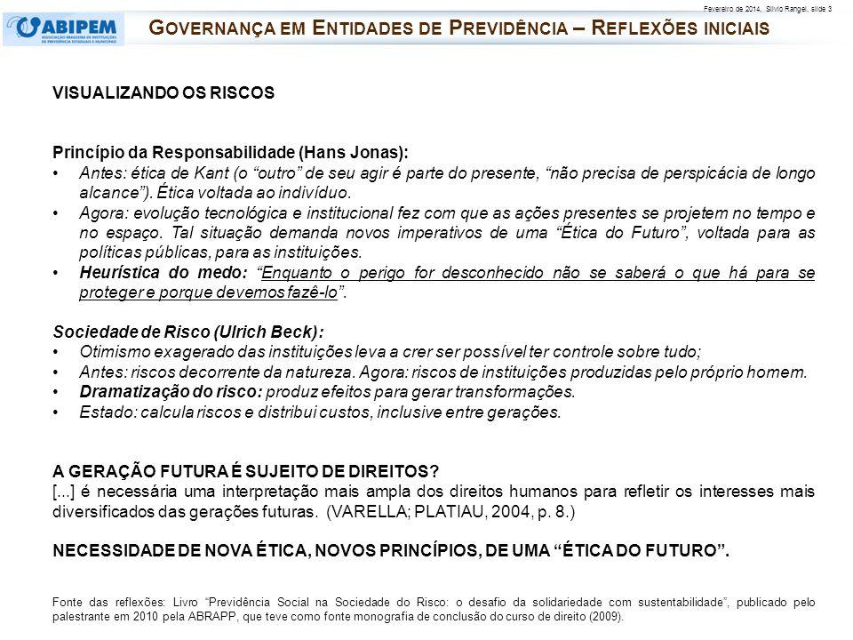 Governança em Entidades de Previdência – Reflexões iniciais
